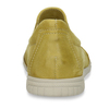 KOŽENÉ DÁMSKÉ SLIP-ON TENISKY ŽLUTÉ bata, žlutá, 526-8600 - 15