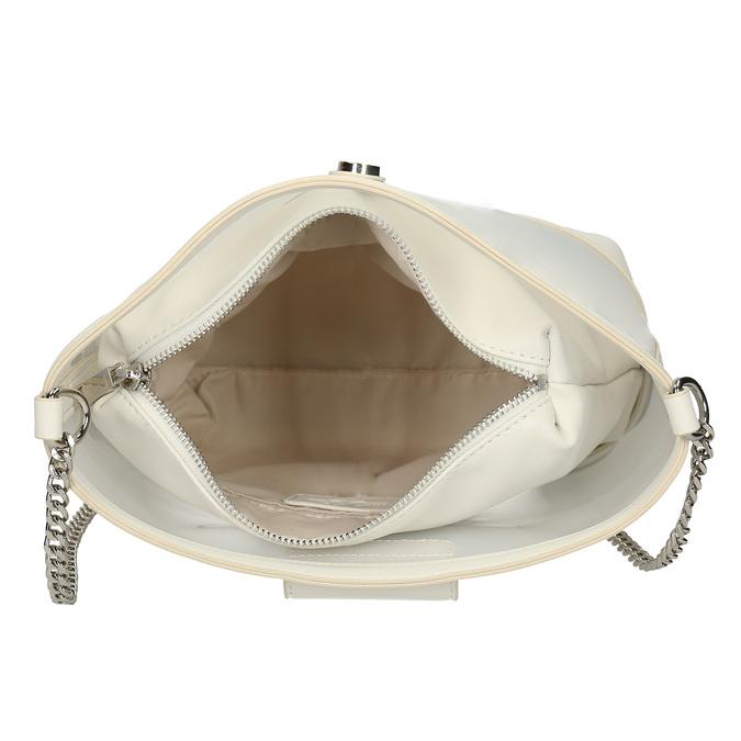 Bílá dámská kabelka přes rameno bata, bílá, 961-1601 - 15