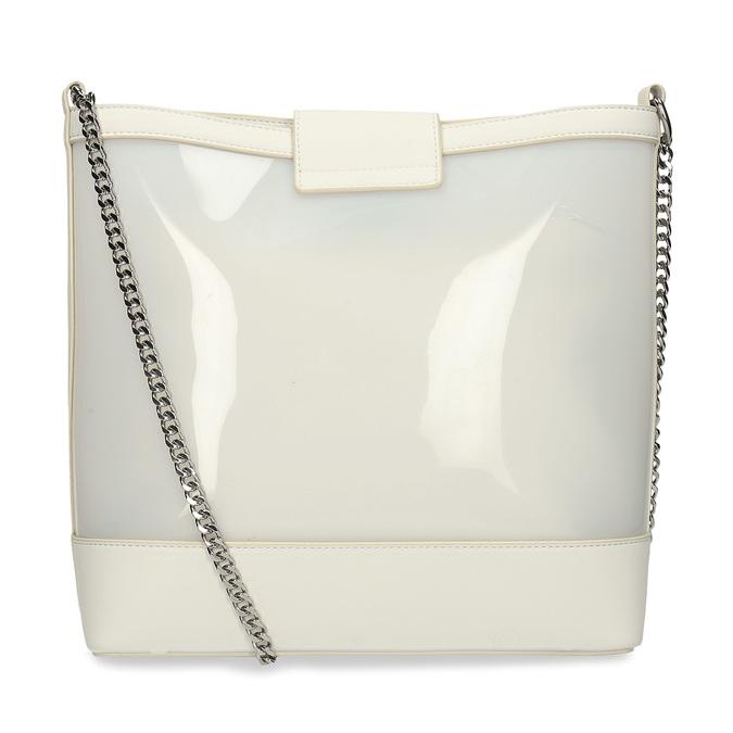 Bílá dámská kabelka přes rameno bata, bílá, 961-1601 - 16