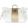 Bílá dámská kabelka s kovovými uchy bata, bílá, 961-1600 - 26