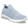 Modré dámské odlehčené slip-on tenisky bata-light, modrá, 529-9604 - 13