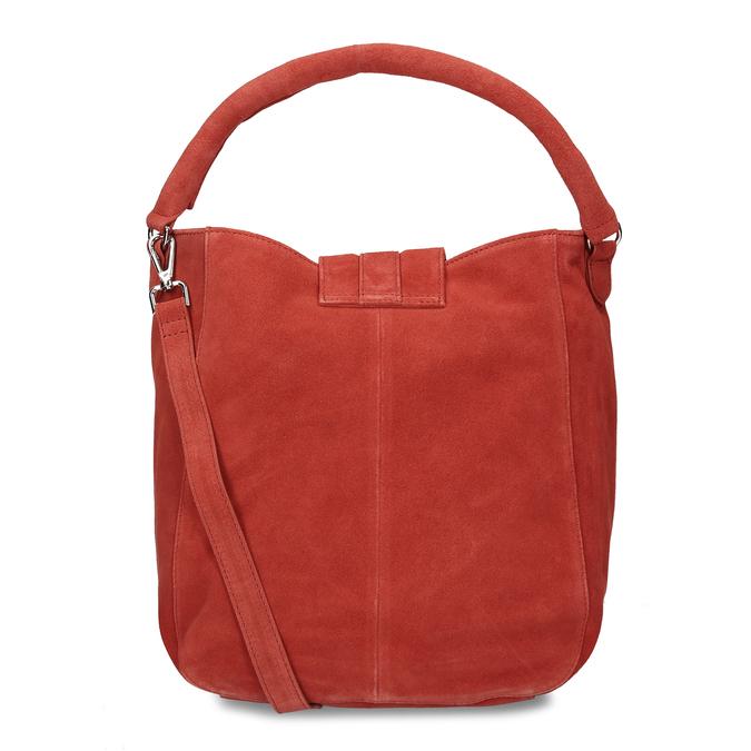 Červená kožená dámská kabelka bata, červená, 964-5643 - 16