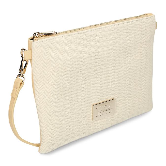 Béžová dámská malá kabelka crossbody bata, béžová, 961-8608 - 13