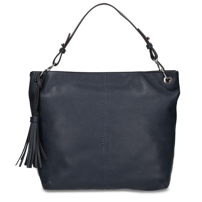 Modrá dámská kabelka bata, modrá, 961-9675 - 26