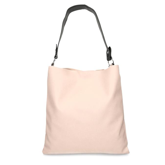 Růžovo černá dámská kabelka bata, růžová, 961-5671 - 16