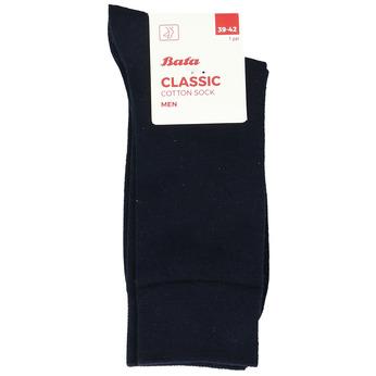 Modré pánské ponožky bata, modrá, 919-9647 - 13