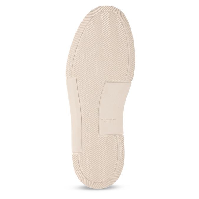Bílé kožené pánské městské tenisky vagabond, bílá, 844-1604 - 18