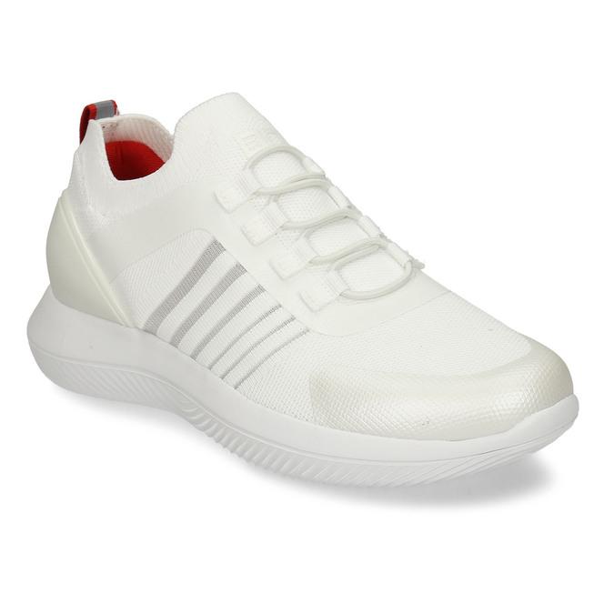 Bílo-stříbrná dámské sportovní tenisky bata-3d-energy, bílá, 549-1609 - 13