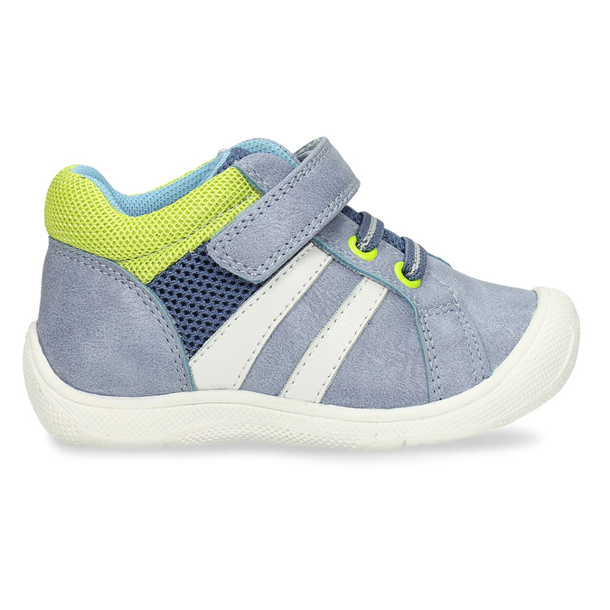Chlapecké tenisky na suchý zip mini-b, modrá, 111-9601 - 19