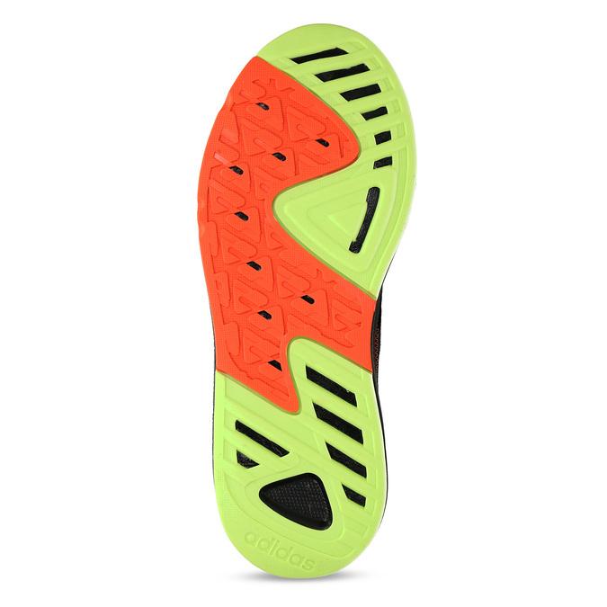 Černé pánské sportovní tenisky adidas, černá, 809-6164 - 18