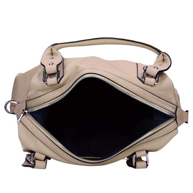 Béžová dámská kabelka střední velikosti bata, béžová, 961-8612 - 15