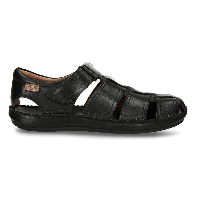 Černé pánské kožené sandály pikolinos, černá, 864-6612 - 19