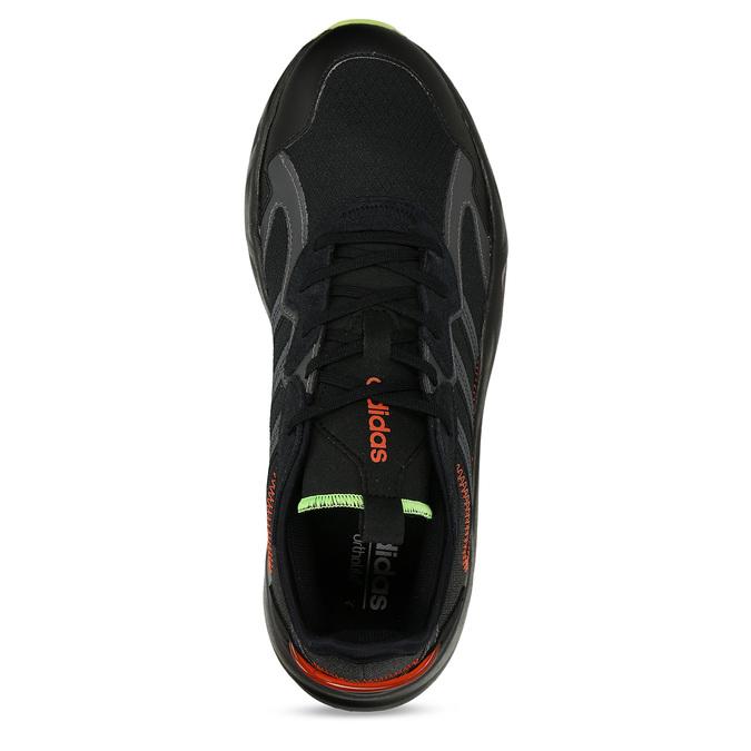 Černé pánské sportovní tenisky adidas, černá, 809-6164 - 17