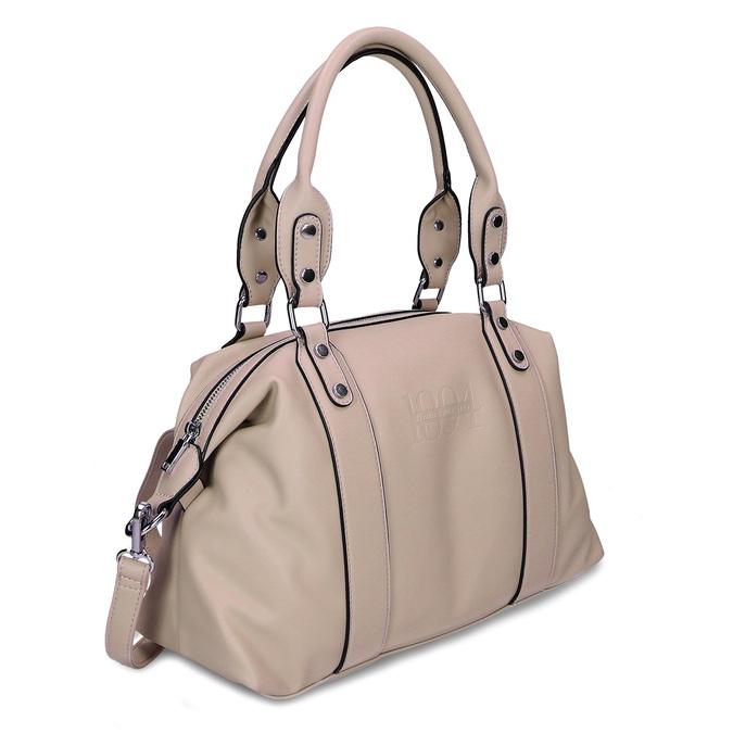 Béžová dámská kabelka střední velikosti bata, béžová, 961-8612 - 13