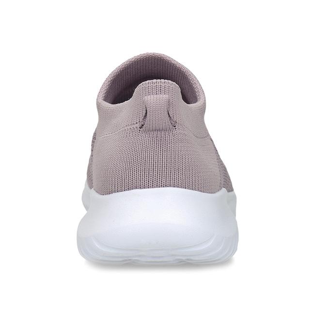 Růžové dámské Slip-on tenisky bata-light, růžová, 529-5605 - 15