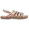 Neonové dívčí kožené sandály mini-b, vícebarevné, 365-4698 - 19