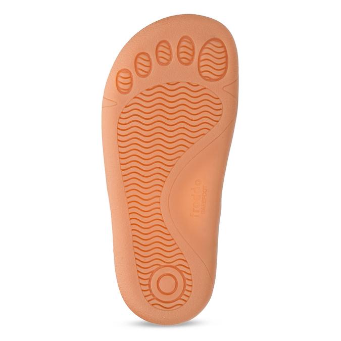 Hnědé dětské kožené sandály na suchý zip froddo, hnědá, 264-4610 - 18