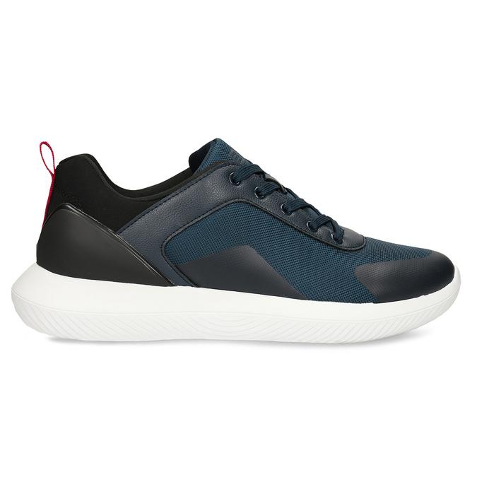 Tmavě modré pánské tenisky bata-3d-energy, modrá, 849-9604 - 15