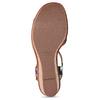 Barevné dámské sandály na platformě bata, modrá, 759-9606 - 18