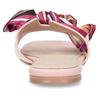 Růžové dámské pantofle s barevnou mašlí bata, růžová, 559-5600 - 15