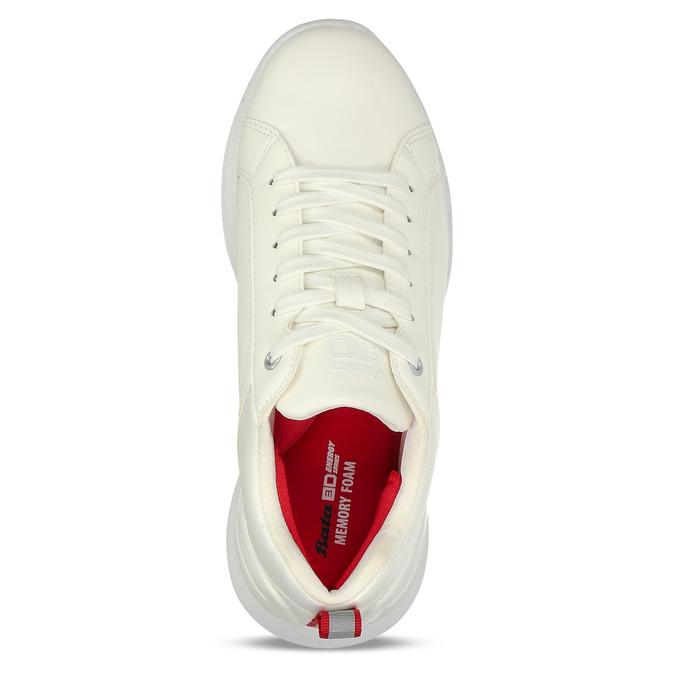 Bílé dámské tenisky bata, bílá, 541-1622 - 16