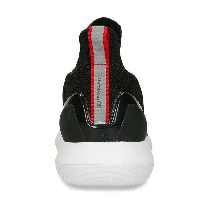 Černé dámské slip-on tenisky bata-3d-energy, černá, 539-6602 - 26