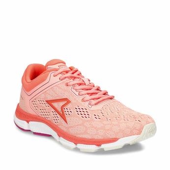 Oranžové dámské sportovní tenisky power, oranžová, 509-5620 - 13
