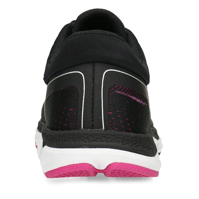 Černé dámské sportovní tenisky power, černá, 509-6620 - 15