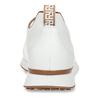 Bílé dámské kožené tenisky s hnědým detailem hogl, bílá, 544-1614 - 15