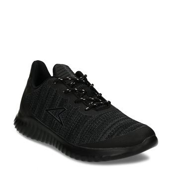 Černé dámské sportovní tenisky power, černá, 509-6810 - 13