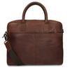 Kožená pánská taška s prošíváním bata, hnědá, 964-4139 - 16