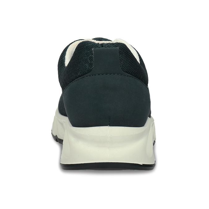 Modré textilní dětské sportovní tenisky primigi, černá, 219-6604 - 15