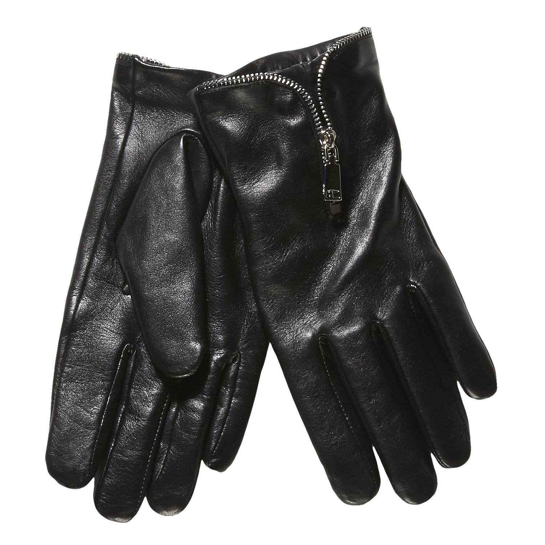 Baťa Dámské kožené rukavice se zipem - Dámské  7e47c5f41d