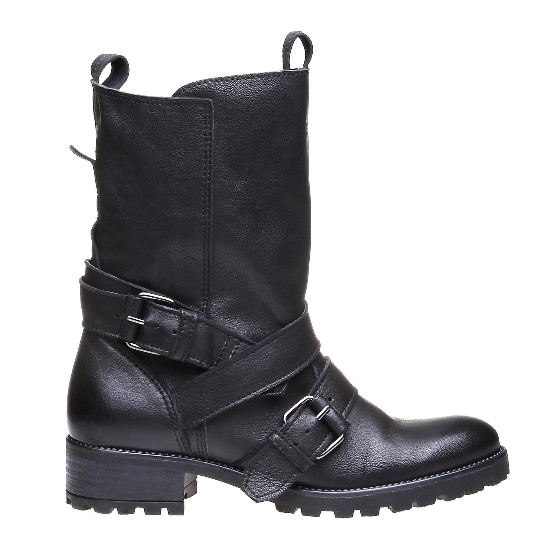 Marlyn - motorkářská obuv bata, černá, 2018-594-6318 - 26