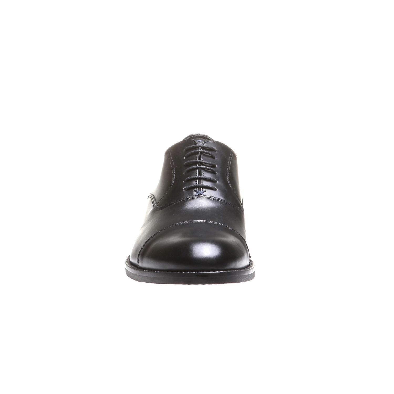 Kožené polobotky v klasickém stylu bata, 2018-824-6102 - 16