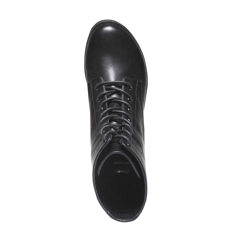 Kotníčková obuv s masivní podešví bata, 2020-691-6147 - 19