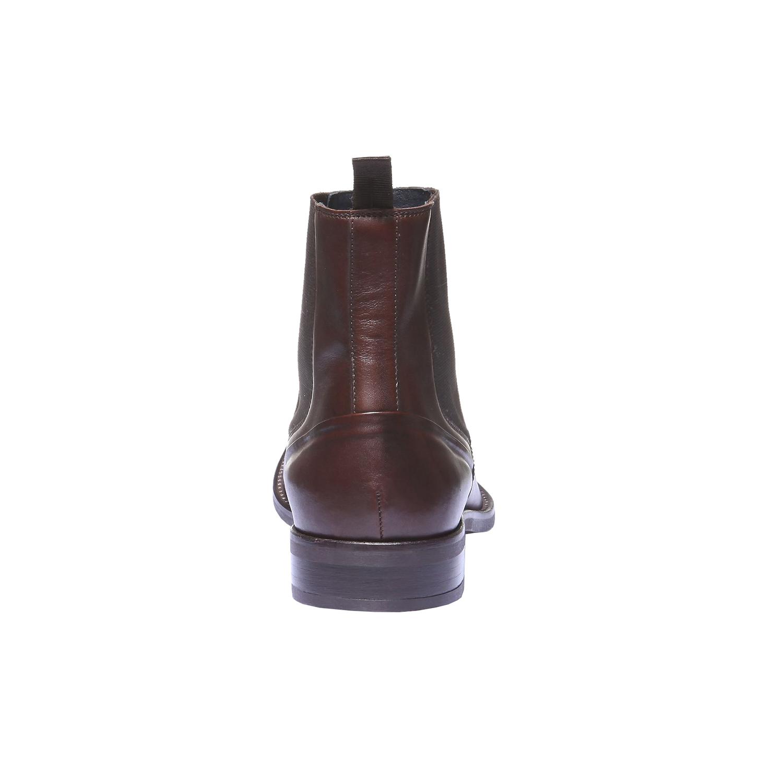 Kožená obuv v Chelsea stylu bata, 2019-894-4116 - 17