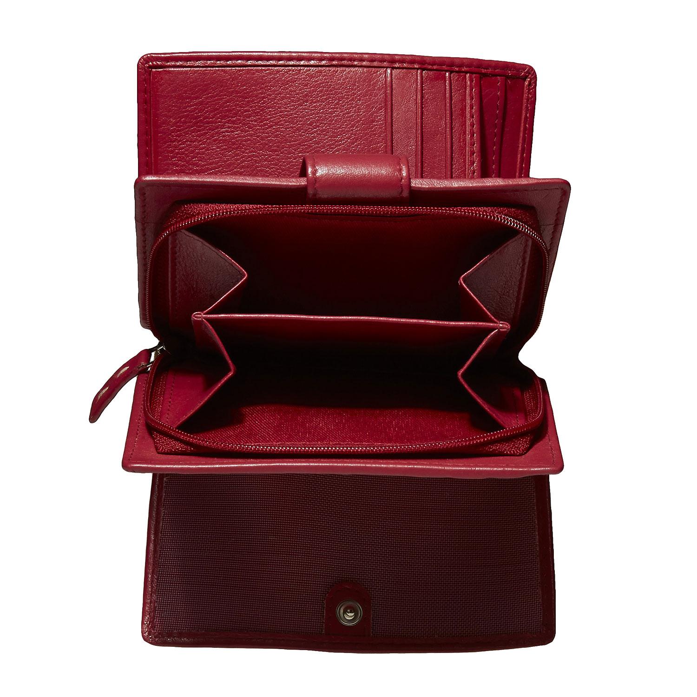 Dámská kožená peněženka bata, 2019-944-5517 - 17