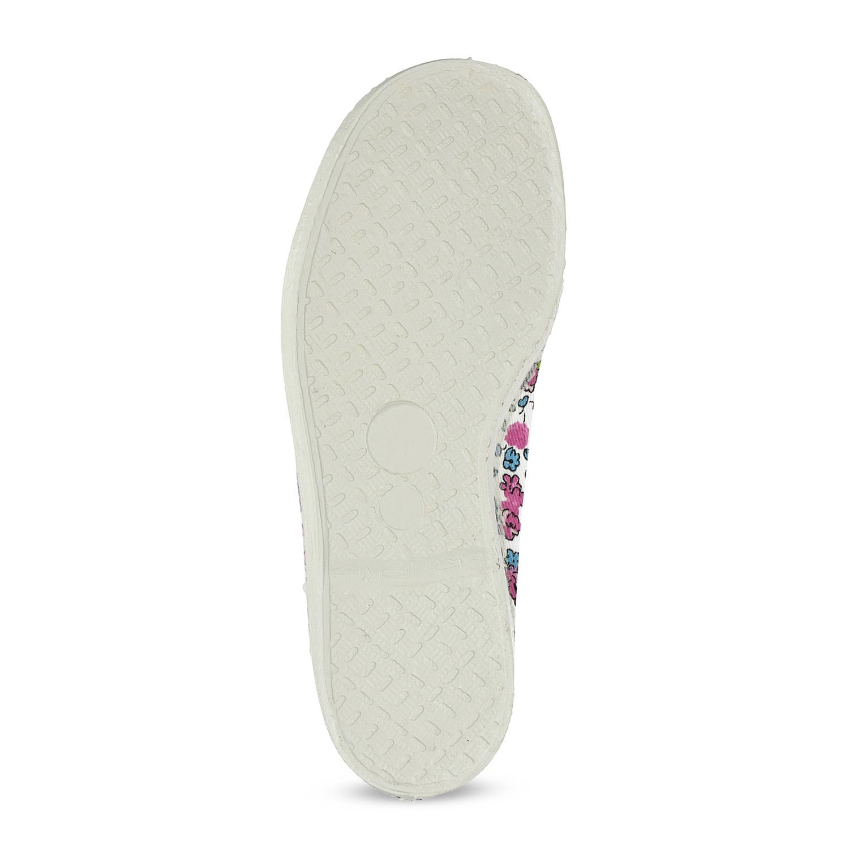c1d6a874e4f Baťa Dětské přezůvky s květinovým vzorem - Všechny dívčí boty